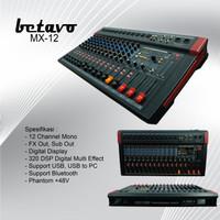 MIXER AUDIO BETAVO MX 12 PROFESIONAL AUDIO MIXER 12 CHANNEL