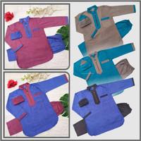 Stelan Koko anak Usia 4-8 tahun - Baju koko anak+celana dan peci