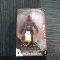 figure red hood/arkham knight/dc collectibles