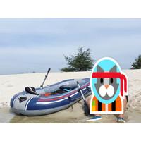 Perahu Karet Bestway Treck X1 Mancing & Olahraga Air Bergaransi