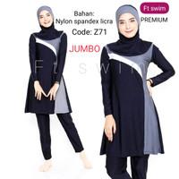 JUMBO baju renang wanita muslimah dewasa/pakaian renang BIG SIZE