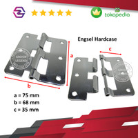 Engsel lepas/engsel koper/box/hardcase accessories K-C220