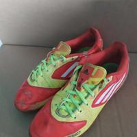 Sepatu Futsal Adidas F50 Messi Orange-Yellow