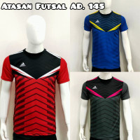 Baju Futsal Atasan Sepakbola Dewasa AD.145 - Merah, M