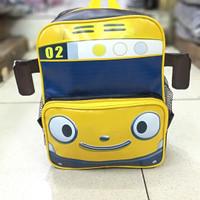 Tas Ransel anak faud TK bentuk mobil tayo