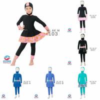 Baju Renang Anak Muslimah Usia TK EDORA