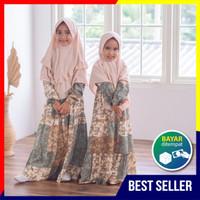 Gamis Anak - Freya Dress Anak Bahan Katun Rayon Premium Adem Dipakai