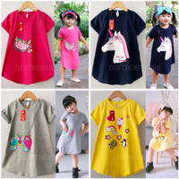 Baju Anak Perempuan Daster Anak Dress Pakaian Dres Anak Perempuan 1-5