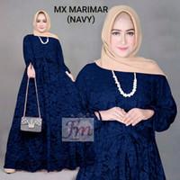 Femme Ols - Maxi Marimar / Baju Gamis Wanita Brukat Extra Jumbo