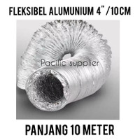 Cerobong/Fleksibel Alumunium Ducting 6/ Fleksibel Pembuangan 15 cm