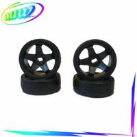 Ban dan velg ban drift roda RC Car 1/28 mini z wiltoys k989 k969
