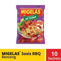 Mie Gelas Migelas Sosis BBQ 10 Pcs Sachet