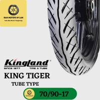 Ban Motor Kingland King Tiger Ring 17 70/90 Tube Type