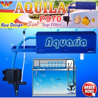 Aquila P-970 Filter Atas Aquarium Top Filter