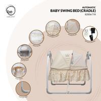 Babyelle Automatic Baby Swing Bed Cradle / Ayunan Tempat Tidur Bayi