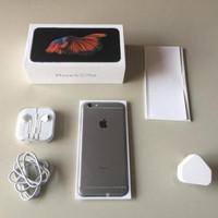 Iphone 6s 128Gb Grey Second Mulus ex international , fullset