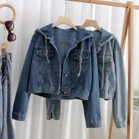 Jaket Wanita | Arashi Jaket Jeans | Atasan Wanita | Jaket Jeans