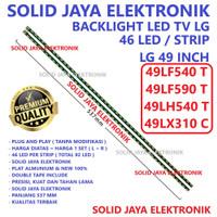 BACKLIGHT TV LG 49 INC 49LF540T 49LF590T 49LX310C LAMPU BL 46 LED 49LF