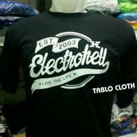 Baju Tshirt Kaos Electrohell
