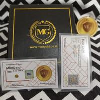 Minigold 0.05 Gram (White Series)