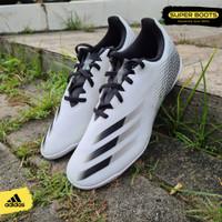 Sepatu Futsal Adidas X Ghosted.4 IN - White Black Original FW6797