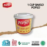 BAKSO CUP POPSO @350gr - Bakso Kereta - Bakso Frozen Food - BaksoReska