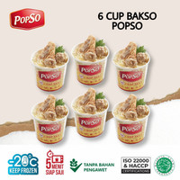 BAKSO CUP POPSO ISI 6 CUP x @350gr