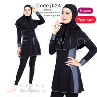 JUMBO baju renang wanita muslim dewasa/pakaian renang muslimah remaja