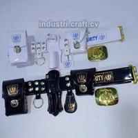 Sabuk Kopel Satpam Security Fullset & Bangkol Atribut Satpam - KS01