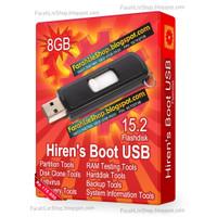 Hirens Boot USB 8GB Flashdisk 8GB Tool Wajib Teknisi Komputer