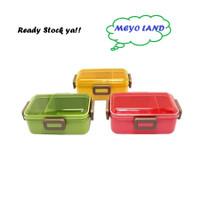 PFLB6 Arniss Skater Lunch Box BAGUS Tempat Makan Kotak Bekal 2 sekat