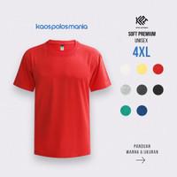 Kaos Polos KPM Apparel Soft Premium Size XXXXL / 4XL