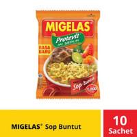 Mie Gelas Migelas Renceng Sop Buntut 10 Pcs Sachet