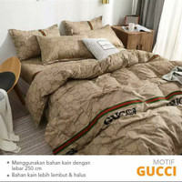 Bedcover 200x200 Tinggi 30 Katun Premium