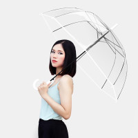 Payung Transparan Putih Polos Payung Jepang Payung Lipat Transparan