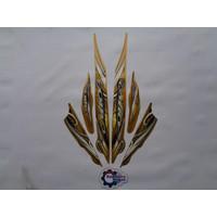 Stiker Motor Yamaha Mio Sporty 2010 Gold