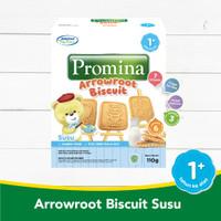 Biskuit Bayi Promina Arrowroot Biscuit 110gram 1+ tahun cocok untuk Mp - Susu