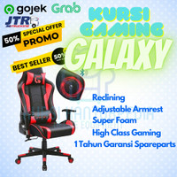 Kursi Gaming Galaxy With Speaker / Kursi Game Speaker / Kursi Gaming