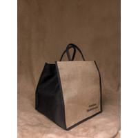 Tas Souvenir Bag Karung Goni Kanvas - Hampers Lebaran Custom Bordir