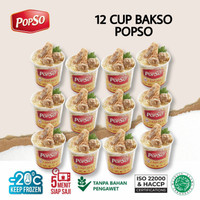 BAKSO CUP POPSO ISI 12 CUP x @350gr
