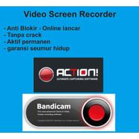 Video Screen Recorder Original Personal Mirilis, Bandicam