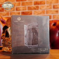 Thelema DNA250C Mod 200W by Lost Vape - Black Calf Leat