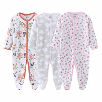 Sleepsuit Jumper Baby Bayi isi 3pcs / Baju Tidur Bayi
