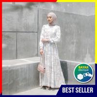 Homey Dress Almira - Bahan Katun Rayon Premium - Gamis Motif Dewasa