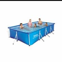 kolam renang bestway frame 400x211x81 original