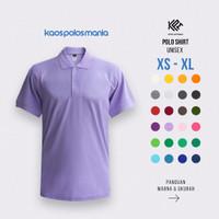 Kaos Polo Shirt Pique CVC KPM Apparel Size Dewasa