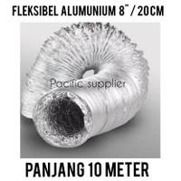 Fleksibel Alumunium Ducting 8/ Fleksibel Pembuangan 20 cm