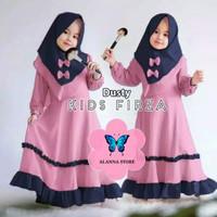 Firza Kids Baju Muslim Gamis Anak Perempuan Usia 2-10 tahun Moscrepe