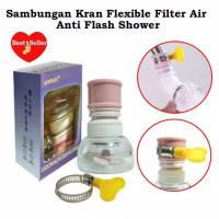 SAMBUNGAN KRAN FILTER AIR CLAIM FLEXIBLE ANTI SPLASH SHOWER RANDOM