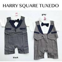 Baju setelan kemeja romper bayi laki pergi pesta kondangan formal